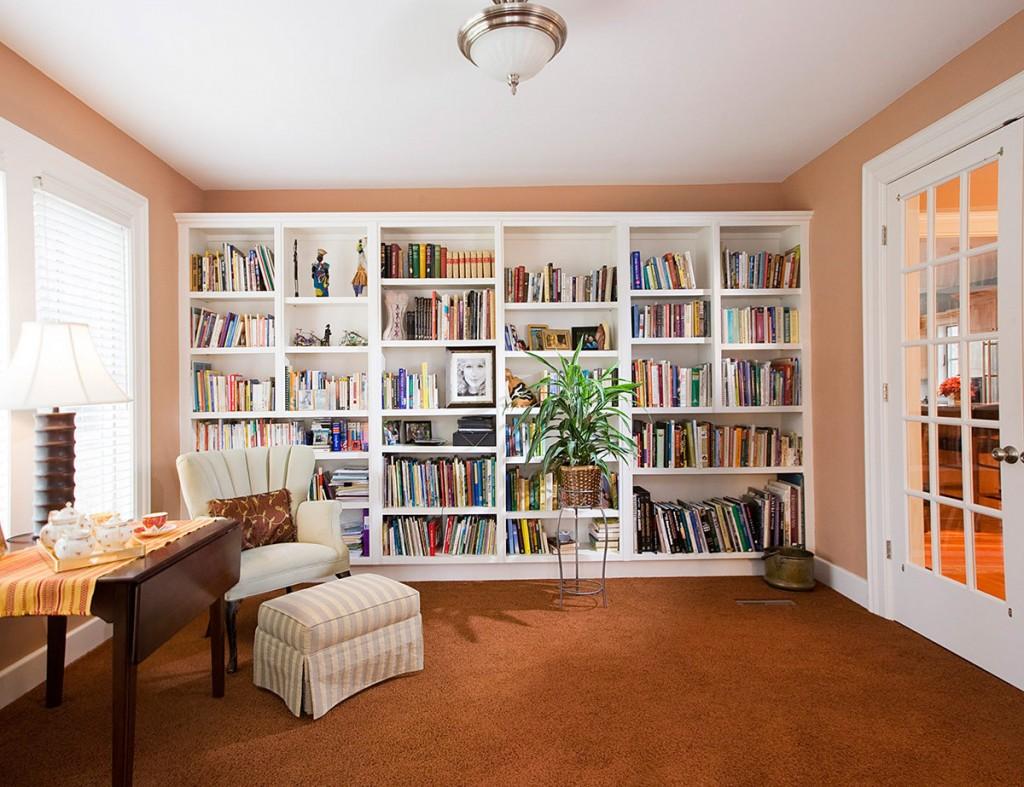 Советы по оформлению помещения под домашнюю библиотеку